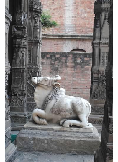 pic cow statue 2
