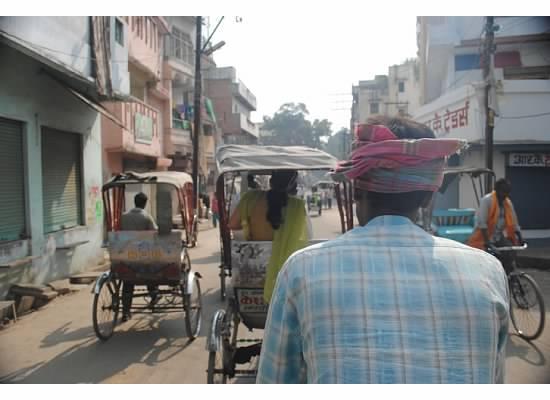 pic rickshaw driver